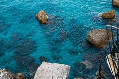 Resort town of Nerja in Spain. View from Balcon de Royalty Free Stock Photos