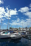 Resort town. The small seaside town in Spain Stock Photography