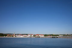 Resort Town of Sopot in Poland Stock Photography