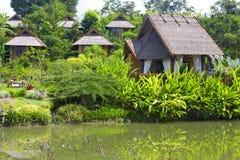 Resort in the tropics Royalty Free Stock Image
