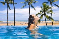 Resort Vacation Stock Image