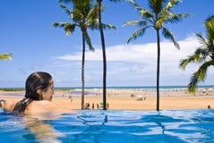 Resort Vacation Stock Photo