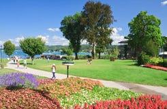 Resort Velden. Austria. Resort Velden am Worthersee. Austria royalty free stock image