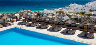 Resort View Stock Photography