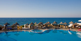 Resort view Royalty Free Stock Images