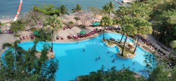 Resort view stock image