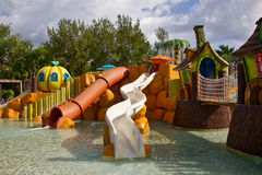 Resort water park Stock Image