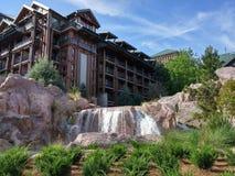 Resort Waterfall Stock Photography