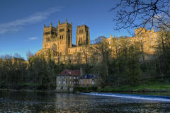 Resorte de Durham Catherdral Fotos de archivo