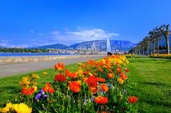 Resorte de Ginebra Imagenes de archivo