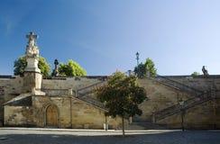 Resorte de Praga en el puente de Charles Imágenes de archivo libres de regalías