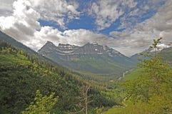 Resorte del glaciar Imagenes de archivo
