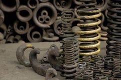 Resorte del hierro Imagen de archivo libre de regalías