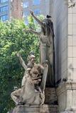 Resorte en Central Park Foto de archivo libre de regalías