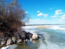 Resorte en el lago Imagen de archivo libre de regalías