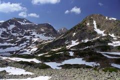 Resorte en la montaña Fotografía de archivo libre de regalías