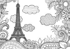 Resorte en París libre illustration