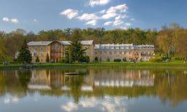 Resorte en un parque polaco Fotografía de archivo libre de regalías