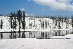 Resorte en Yellowstone Foto de archivo libre de regalías