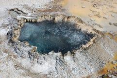 Resorte mineral caliente de ebullición Fotografía de archivo libre de regalías