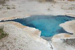 Resorte mineral que trata con vapor caliente Imagen de archivo libre de regalías