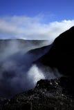 Resorte que burbujea en Deildartunguhver Fotos de archivo libres de regalías