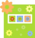 Resorte que consigue la tarjeta Imagen de archivo libre de regalías
