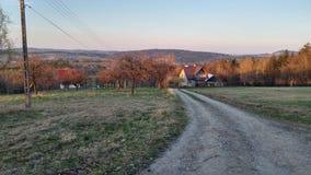 Resorte temprano en Polonia Fotografía de archivo libre de regalías