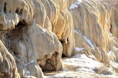 Resortes del mineral de Thermopolis Imágenes de archivo libres de regalías