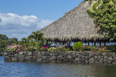 Resorts and acomodation at Granada`s Islands Stock Image