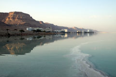 Resorts of the Dead Sea Stock Photos