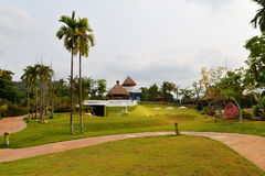 Resorts garden Royalty Free Stock Photos