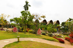 Resorts garden Royalty Free Stock Images