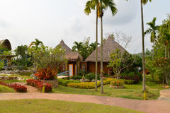 Resorts garden Stock Image