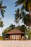 Resorts in island beside the sea beach Stock Image