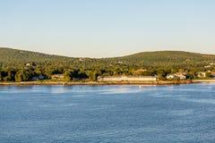 Resorts on Maine Coast. Royalty Free Stock Photos