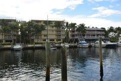 Resorts And Marina Royalty Free Stock Images
