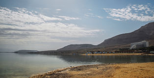 Resorts on the shores of the Dead Sea Royalty Free Stock Images