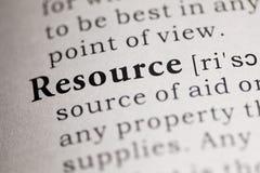 Resource Royalty Free Stock Image