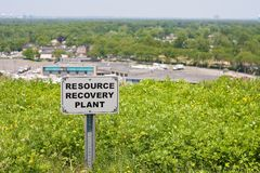 Resource Recovery Plant Stock Images