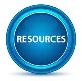 Resources Eyeball Blue Round Button. Resources Isolated on Eyeball Blue Round Button stock illustration