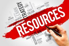 RESOURCES Royalty Free Stock Photo