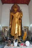 Respect de salaire de personnes à Bouddha photos libres de droits