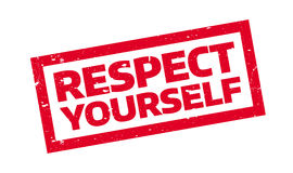 Respect Yourself rubber stamp Royalty Free Stock Photography