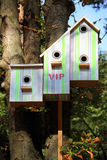Respectable birdhouse Royalty Free Stock Photography