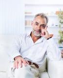 A respectable businessman Stock Photos
