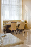 Respectable restaurant interior Royalty Free Stock Photos