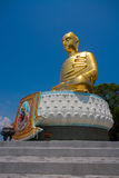 Respected Golden Buddha in Thailand Stock Photos