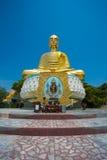 Respected Golden Buddha in Thailand. Pra Phu Takitti Siri Chai respected Buddha in Thailand Stock Image