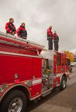 Respekt-Portland-Feuer-Offizier Libke Memorial Stockbild